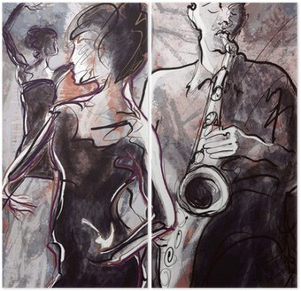 Zespół jazzowy z tancerzami