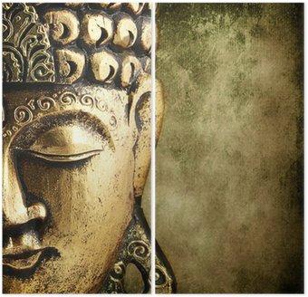 Dyptyk Złoty Budda