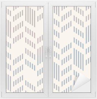 Fensteraufkleber Abstrakte Nahtlose geometrische Vektor-Chevron-Muster. Mesh-backgro
