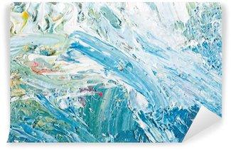 Vinyl Fotobehang Abstract kunstwerk achtergrond schilderij