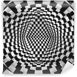 Vinyl Fotobehang Abstracte optische kunst