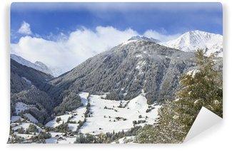 Vinyl Fotobehang Alp landschap