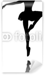 Vinyl Fotobehang Balletdanser