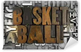 Vinyl Fotobehang Basketball