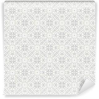 Vinyl Fotobehang Bloemen traditionele ornament, bruiloft naadloze patroon, bacground ontwerp, vector illustratie