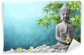 Vinyl Fotobehang Boeddha in meditatie