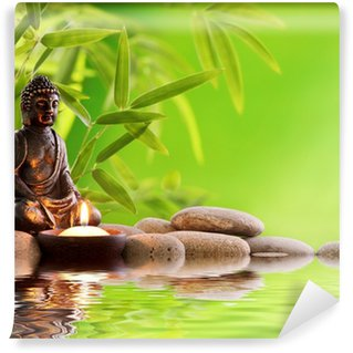 Vinyl Fotobehang Buddha Zen