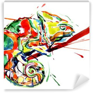 Vinyl Fotobehang Chameleon