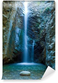 Vinyl Fotobehang Chantara Watervallen in Trodos bergen, Cyprus