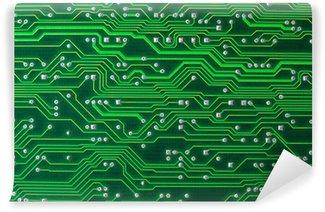 Vinyl Fotobehang Circuitboard