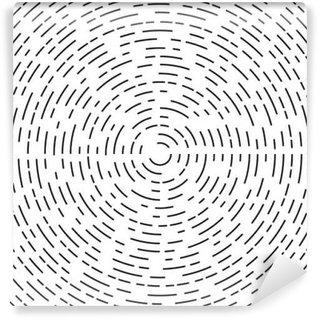 Vinyl Fotobehang Concentrische cirkel element of achtergrond.