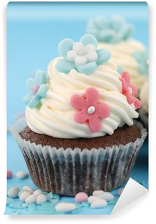 Vinyl Fotobehang Cupcake fiori