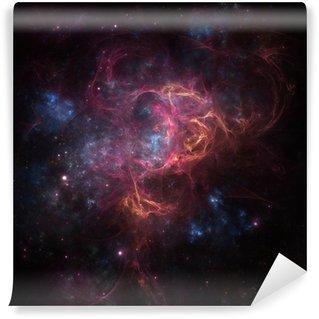 Vinyl Fotobehang Deep space nevel
