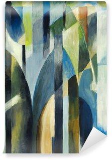 Vinyl Fotobehang Een abstract schilderij