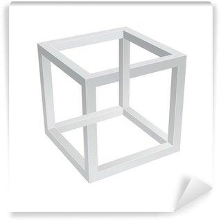 Vinyl Fotobehang Escher Kubus