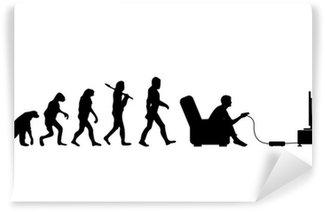 Vinyl Fotobehang Evolutie Gamer