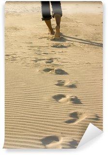 Vinyl Fotobehang Footprints