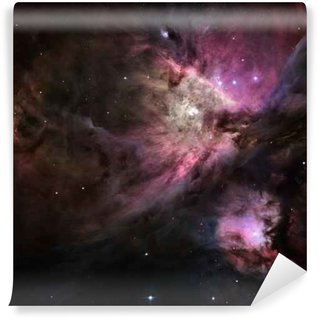 Vinyl Fotobehang Galactic Space Elementen van deze afbeelding geleverd door NASA