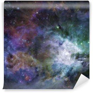 Vinyl Fotobehang Galactic Space Sommige elementen voorzien met dank aan NASA__