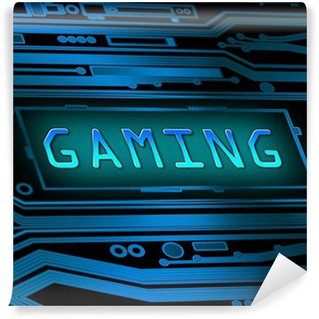 Vinyl Fotobehang Gaming concept.