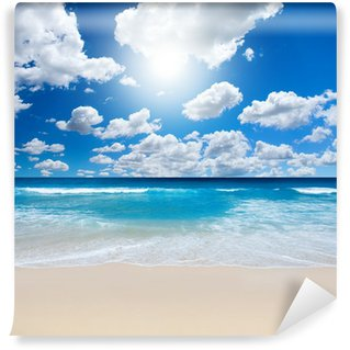 Vinyl Fotobehang Gorgeous Beach Landschap