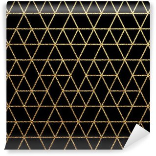 Vinyl Fotobehang Gouden textuur voor abstracte vakantie achtergrond