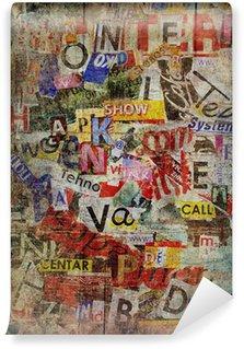 Vinyl Fotobehang Grunge getextureerde achtergrond
