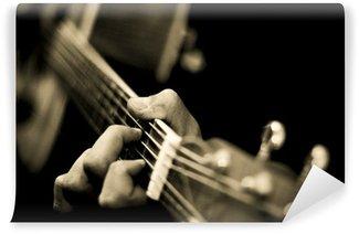 Vinyl Fotobehang Guitar hero