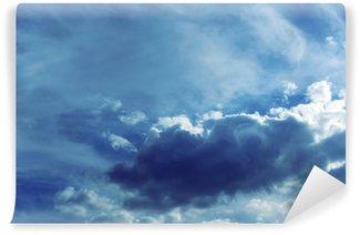 Vinyl Fotobehang Hemel achtergrond met wolken