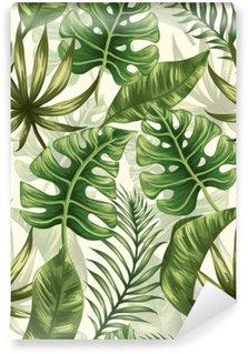 Vinyl Fotobehang Het patroon van bladeren