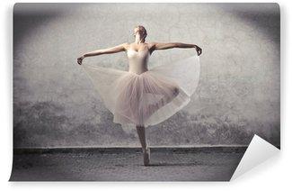 Vinyl Fotobehang Klassieke ballerina