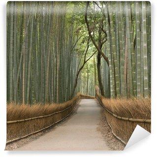 Vinyl Fotobehang Kyoto bamboebosje