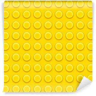 Vinyl Fotobehang Lego blokken patroon
