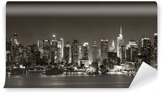 Vinyl Fotobehang Midtown Manhattan Skyline