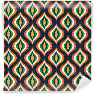 Vinyl Fotobehang Naadloos abstract geometrisch patroon