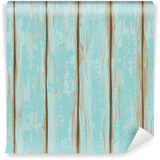 Vinyl Fotobehang Naadloos patroon van houten planken