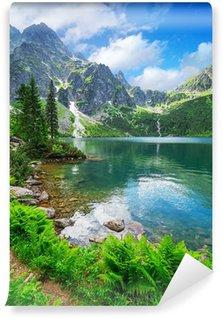 Vinyl Fotobehang Oog van de zee meer in Tatra gebergte, Polen