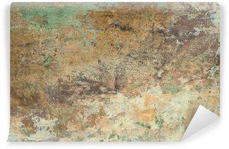 Vinyl Fotobehang Oude stenen muur textuur achtergrond.