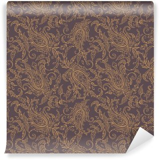 Vinyl Fotobehang Paisley stof orient naadloos patroon
