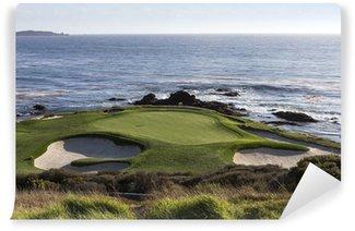 Vinyl Fotobehang Pebble Beach golfbaan, Monterey, Californië, Verenigde Staten