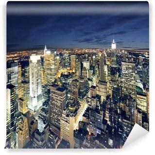 Vinyl Fotobehang Prachtig uitzicht op New York Manhattan - newyork stad