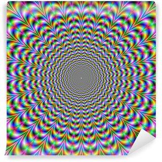 Vinyl Fotobehang Psychedelische Web