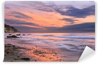 Vinyl Fotobehang Santa Barbara zonsondergang