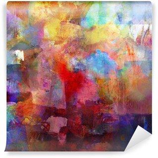 Vinyl Fotobehang Schilderij textures