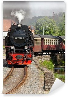 Vinyl Fotobehang Selketalbahn Harz
