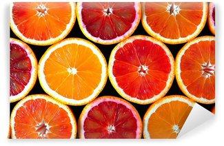 Vinyl Fotobehang Sinaasappels