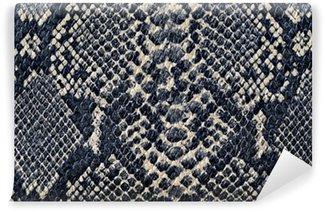 Vinyl Fotobehang Snake huid achtergrond textuur