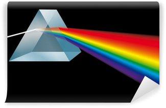 Vinyl Fotobehang Spektralfarben Prism