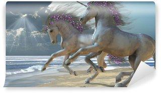 Vinyl Fotobehang Spelen Unicorns Deel 2