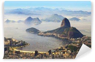 Vinyl Fotobehang Sugarloaf, Rio de Janeiro, Brazilië